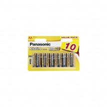 Батарейка Panasonic Alkaline Power AA BLI 10шт (LR6REB/10BW)