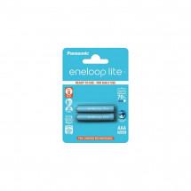 Аккумулятор Panasonic Eneloop Lite AAA 550 2шт mAH NI-MH (BK-4LCCE/2BE)