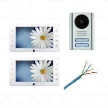 Комплект видеодомофона Neolight Kappa и Neolight Mega/2