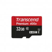 Карта памяти Transcend microSDHC 32GB Class 10 UHS-I Premium (TS32GUSDCU1)