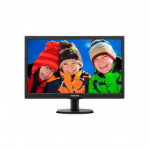 "Монитор 24"" Philips 243V5QSBA/01 Black"