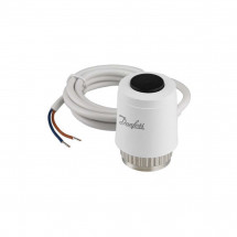 Термоэлектрический привод Danfoss 220В NC TWA-K 088H3142 на клапаны с резьбой М30х1.5