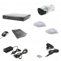 Комплект видеонаблюдения Tecsar IP 1OUT