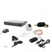 Комплект видеонаблюдения Tecsar AHD 1IN-3M DOME