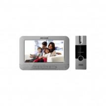 Комплект домофон + вызывная панель Hikvision DS-KIS201