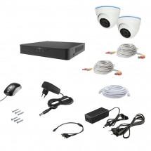 Комплект видеонаблюдения AHD 2IN 2MEGA