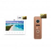 Комплект видеодомофона Neolight NeoKIT HD+ Bronze
