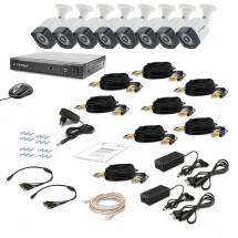 Комплект видеонаблюдения Tecsar AHD 8OUT-3M LIGHT