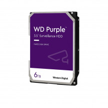 Жесткий диск Western Digital Purple 6TB 5640rpm 128MB WD62PURZ 3.5 SATA III