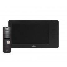 Комплект видеодомофона ARNY AVD-7005 Black/Dark brown