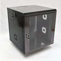 Шкаф навесной 12U, 600х500х640 мм, акрил, черный, CMS