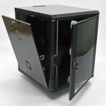 Шкаф навесной 15U, 600х700х773 мм, акрил, черный, CMS