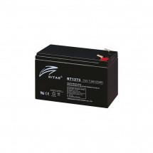 Аккумуляторная батарея RITAR AGM RT1275black 12V 7.5Ah