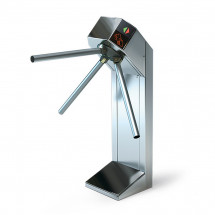 Турникет трипод Expert шлифованная сталь электромеханический, штанга нержавеющая сталь, 3.6.3