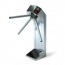 Турникет трипод Expert шлифованная сталь электромех, штанга нерж сталь, 3.6.4, Mifare-id + Mifare-id