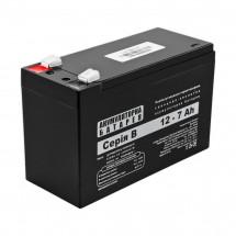 Аккумулятор LogicPower B 12V 7AH (12-7AH)