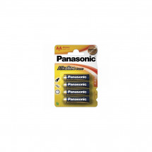 Батарейка Panasonic Alkaline Power AA BLI 4шт (LR6REB/4BPR)