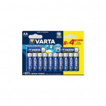 Батарейка Varta High Energy AAA BLI 12шт Alkaline (04903121472)