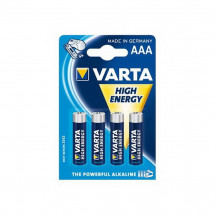 Батарейка Varta High Energy AAA BLI 4шт Alkaline (04903121414)