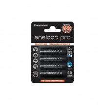 Аккумулятор Panasonic Eneloop Pro AA 2500 mAh 4шт (BK-3HCDE/4BE)