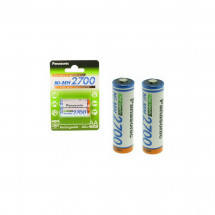 Аккумулятор Panasonic High Capacity  AA 2700 mAh 2BP   Ni-MH (BK-3HGAE/2BE)