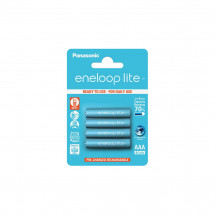 Аккумулятор Panasonic Eneloop Lite AAA 550 4BP mAH NI-MH