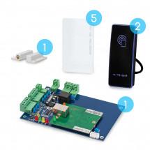 Комплект сетевого СКУД CnM Secure Gate 1 дверь считыватель/считыватель