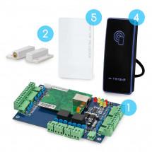 Комплект сетевого СКУД CnM Secure Gate  2 двери считыватель/считыватель