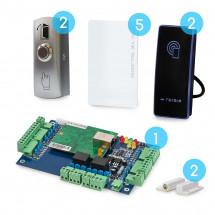 Комплект сетевого СКУД CnM Secure Gate 2 двери считыватель/кнопка