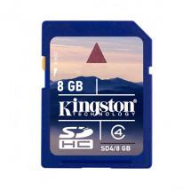 Карта памяти Kingston SDHC 8 GB SD4/8 GB