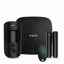 Комплект охранной сигнализации Ajax StarterKit Cam Black