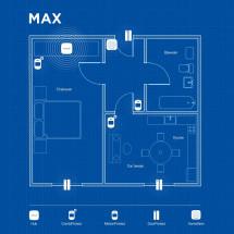 Беспроводная охранная сигнализация для квартиры MAX