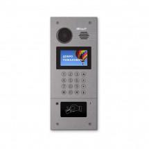 Многоабонентская вызывная панель Bas-IP AA-07M Silver (Mifare)