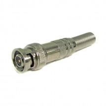 Штекер BNC-P под кабель с пружиной