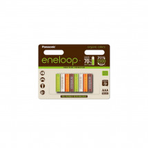 Аккумулятор Panasonic Еneloop AAA 750 8шт mAh NI-MH Organic Colors (BK-4MCCE/8RE)