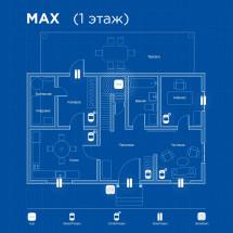 Беспроводная охранная сигнализация для частного дома MAX