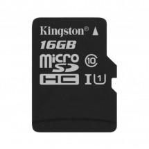 Карта памяти Kingston 16GB microSDHC class 10 Canvas Select Plus 100R A1 (SDCS2/16GBSP)