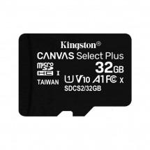 Карта памяти Kingston 32GB microSDHC class 10 UHS-I A1 (R-100MB/s) Canvas (SDCS2/32GBSP)