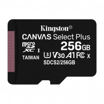 Карта памяти Kingston 256GB microSDXC class 10 UHS-I Canvas Select Plus (SDCS2/256GBSP)