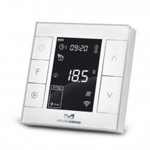 Термостат водяного отопления Z-Wave настенный MCO Home c датчиком влажности — MCOEMH7H-WH2