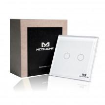 Сенсорный выключатель Z-Wave MCO Home на 2 канала — MCO_TPS312
