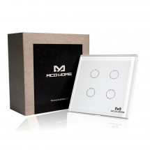 Сенсорный выключатель Z-Wave MCO Home на 4 канала — MCO_TPS314