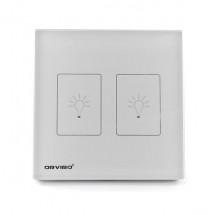 Умный сенсорный выключатель ORVIBO OR-RF-T9-02SD-W (английский стандарт)