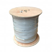 Кабель, витая пара, FTP CAT 5E 4*2*0.51mm, Биметалл, In