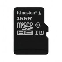 Карта памяти Kingston 16GB microSDHC C10 UHS-I (SDC10G2/16GBSP)