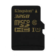 Карта памяти Kingston 32GB microSDHC C10 (SDCA10/32GBSP)