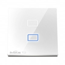 Умный сенсорный выключатель Broadlink TC2-2 (английский стандарт)