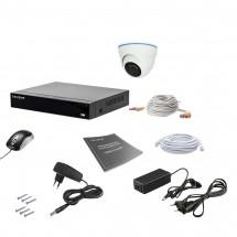 Комплект видеонаблюдения Tecsar AHD 1IN 5MEGA