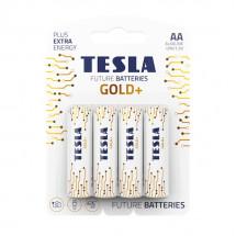 Батарейка Tesla AA Gold+ 4шт