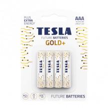 Батарейка Tesla AAA Gold+ 4шт